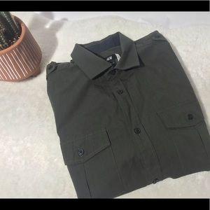 Men's Military Style Shirt
